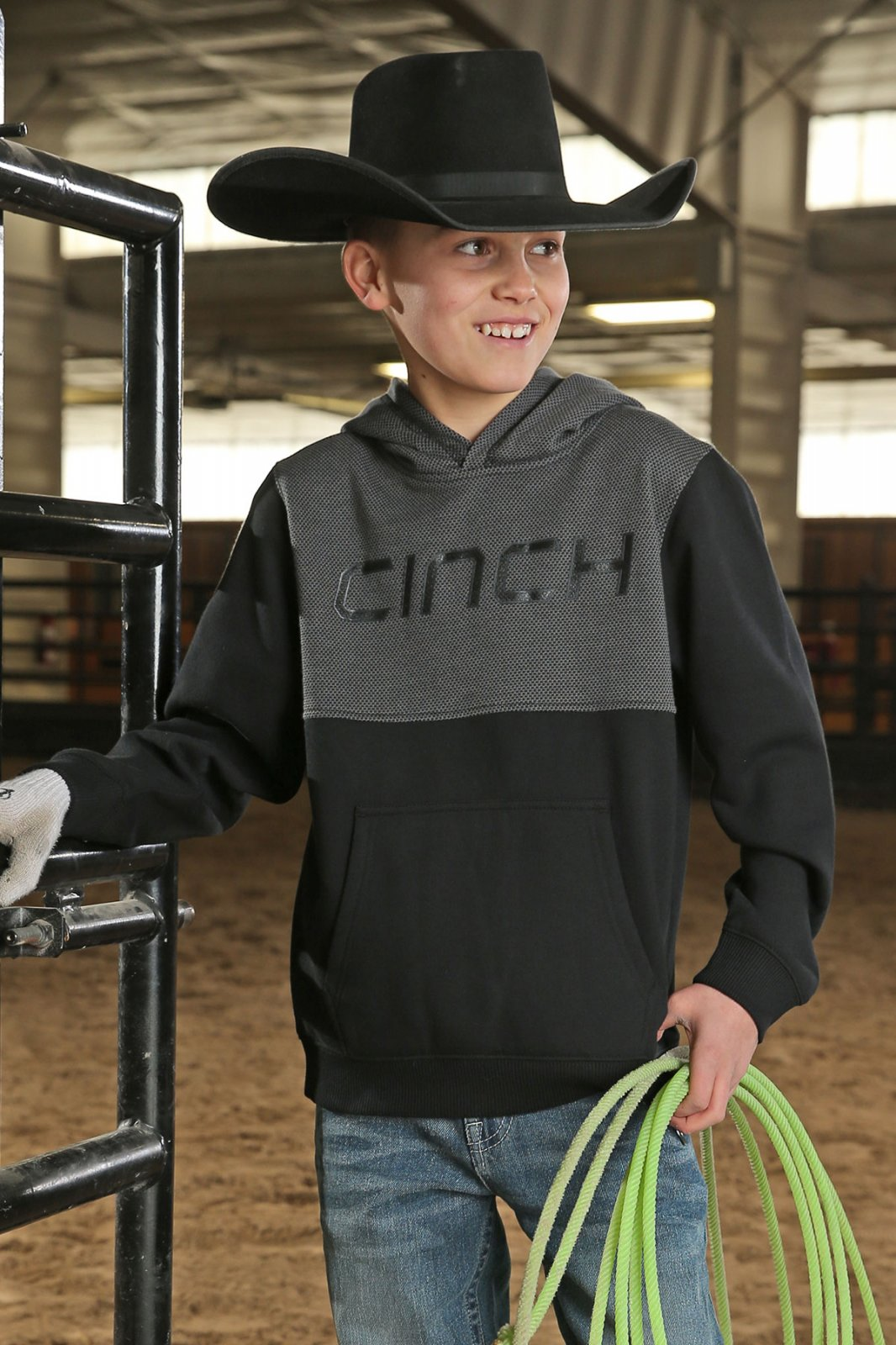 Cinch Hooded Pullover