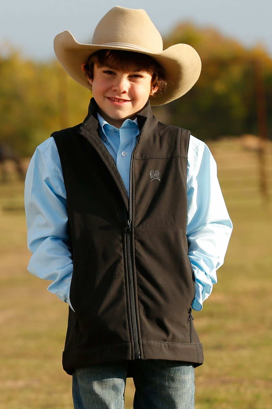 Boys Bonded Vest from Cinch