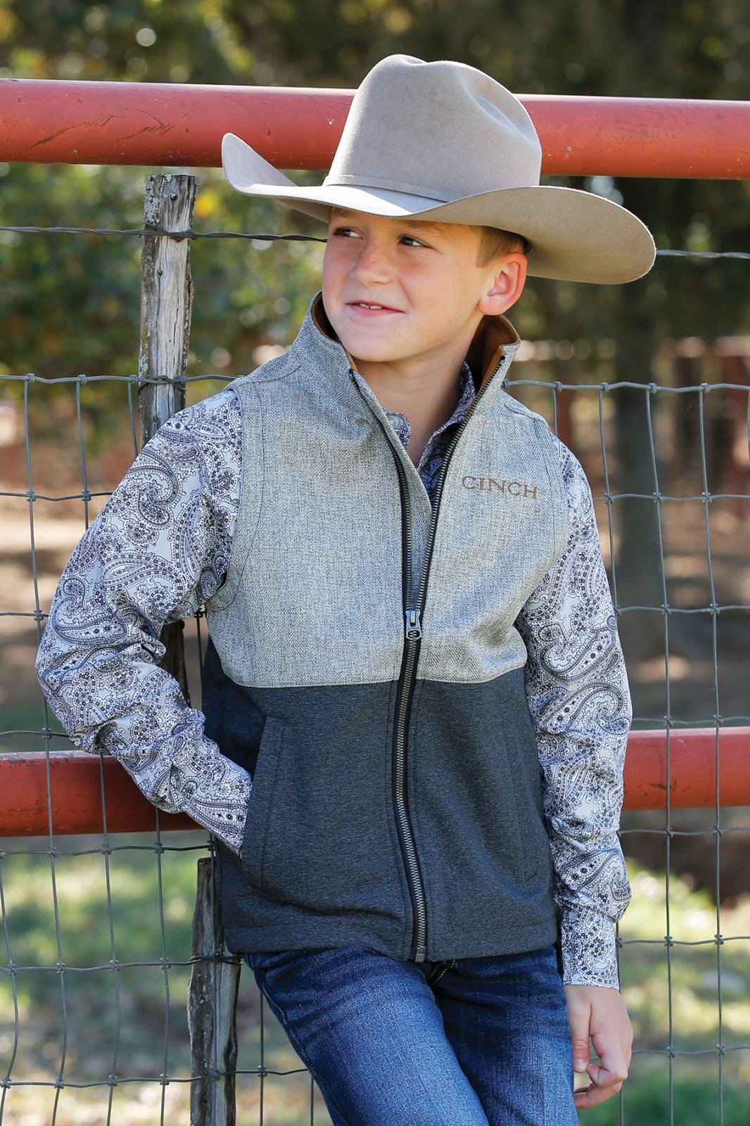Boy's Bonded Vest from Cinch