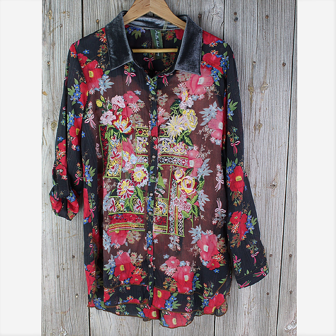 NIght Shimmers Blouse from Aratta