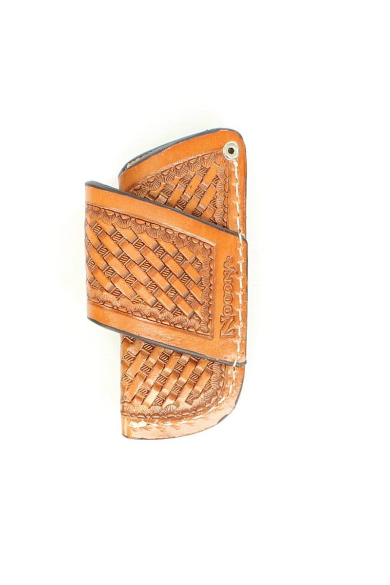 Nocona Small Leather Knife Sheath
