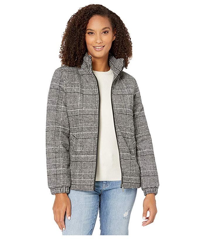 Plaid Puffer from Tribal