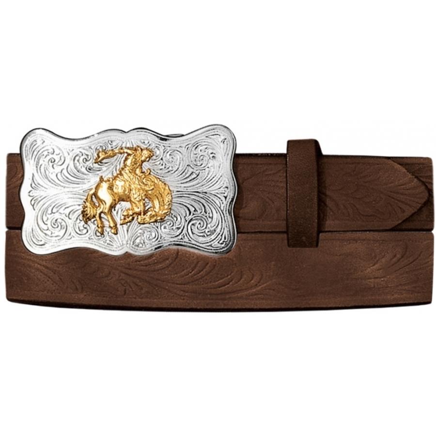 Embossed Cowhide Belt from Tony Lama