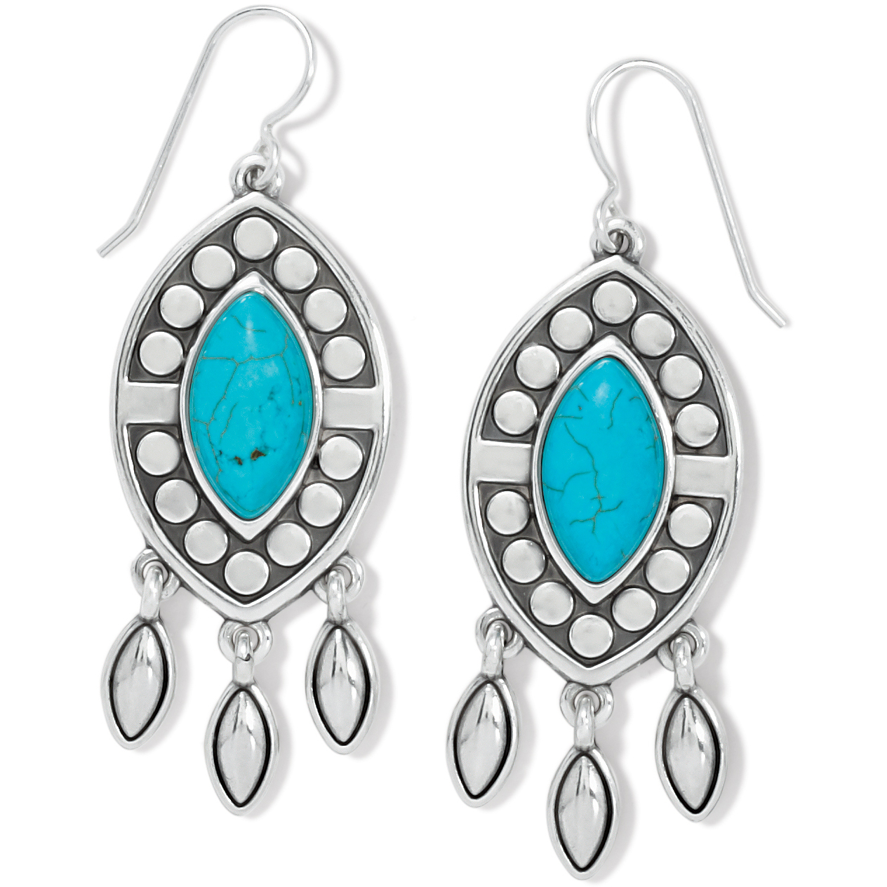 Pebble Dot Dream French Wire Earrings from Brighton