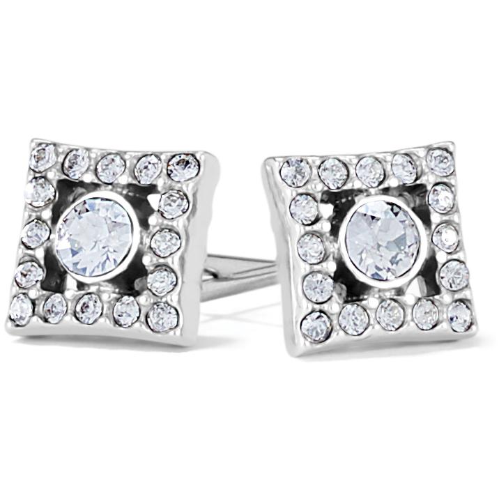 Illumina Diamond Post Earrings from Brighton