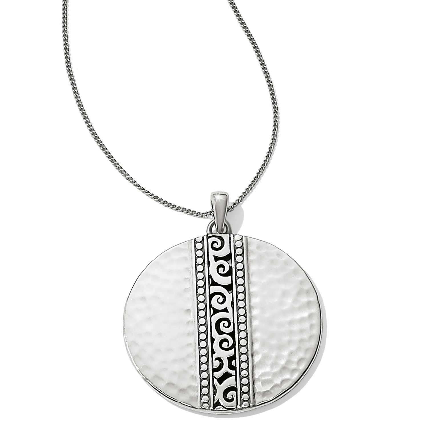 Mingle Disc Necklace from Brighton