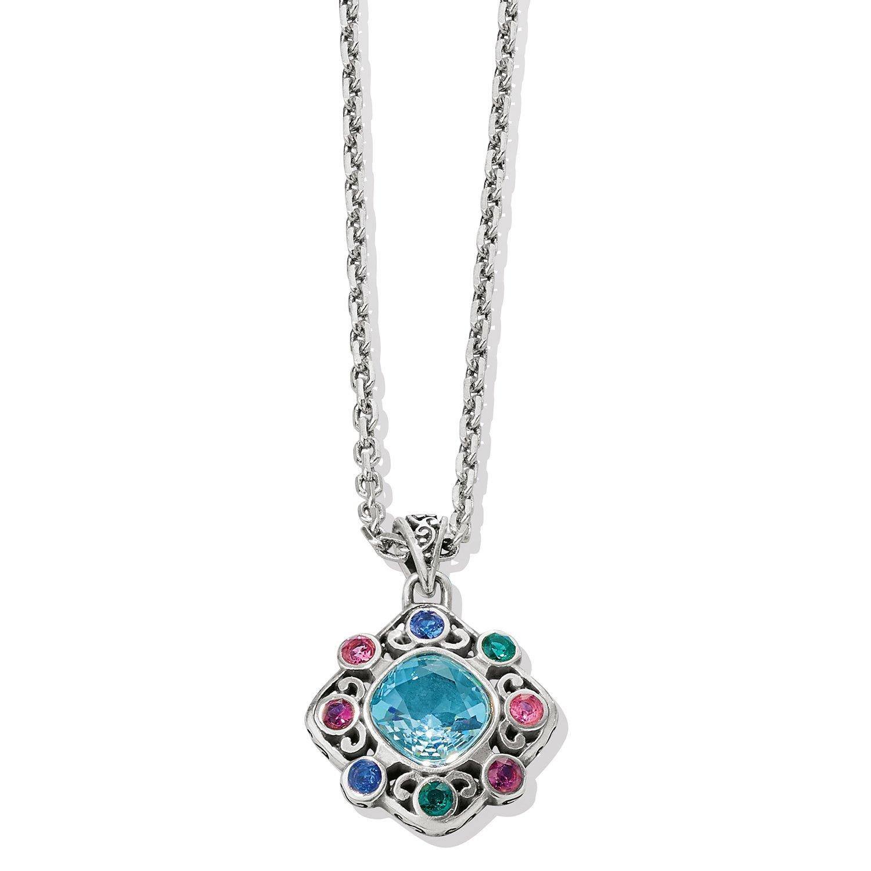Elora Gems Palette Necklace from Brighton