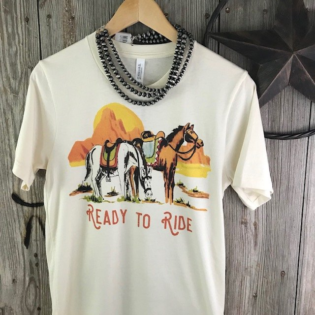 Ready To Ride Graphic Tee
