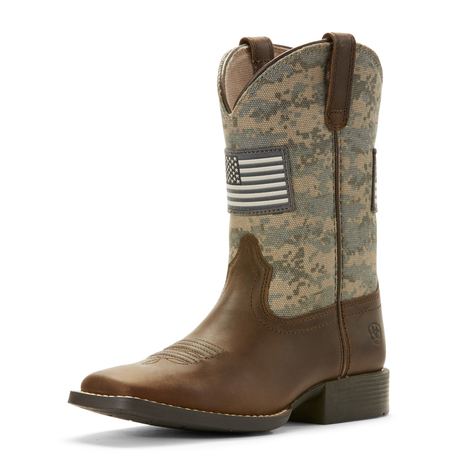 Kids Patriot Square Toe Boot from Ariat