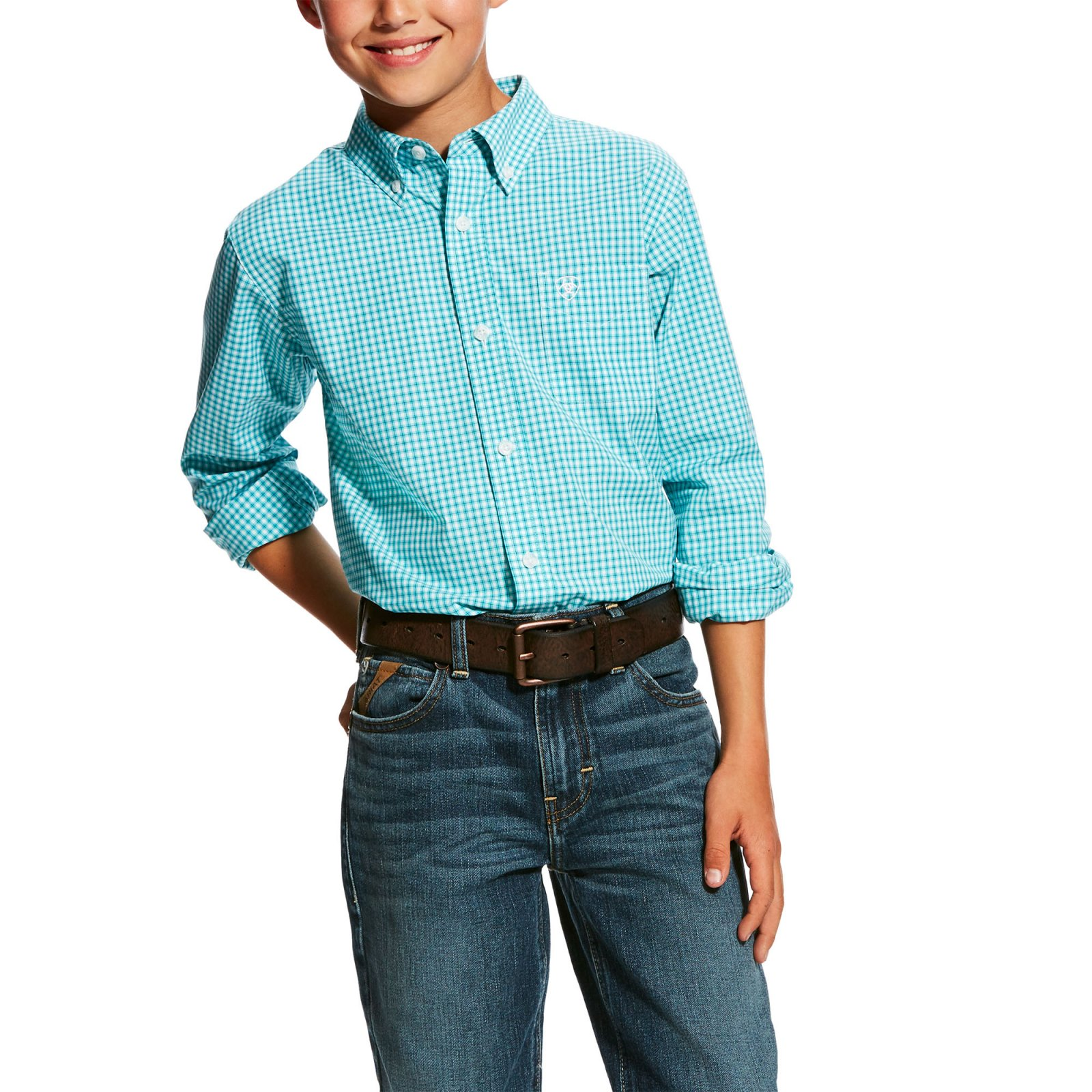 Hallaway Long Sleeve Performance Woven from Ariat