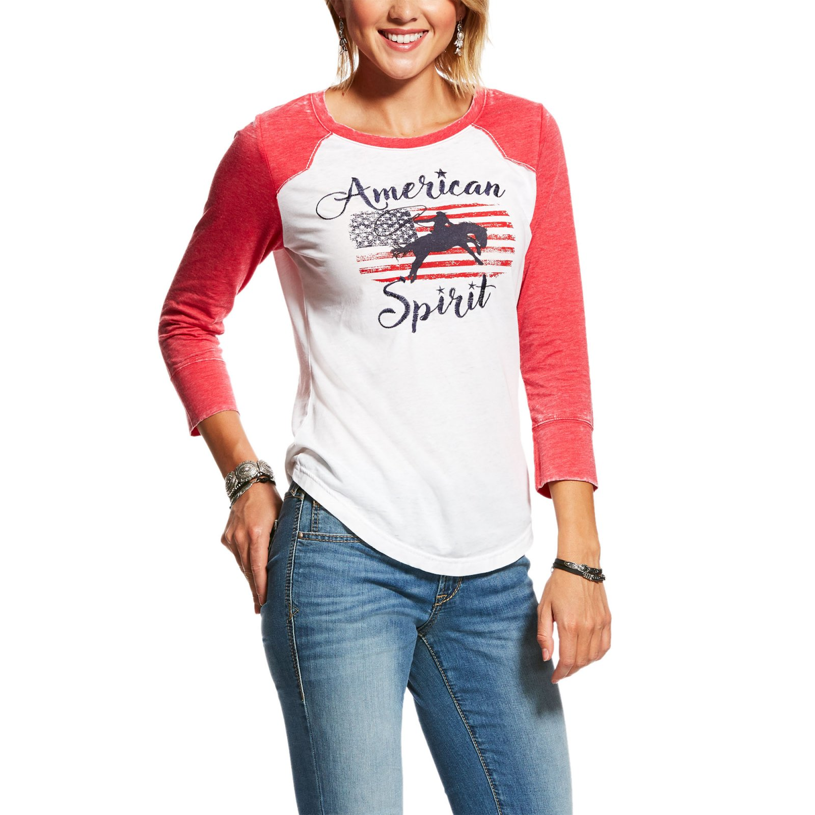 American Spirit Tee from Ariat