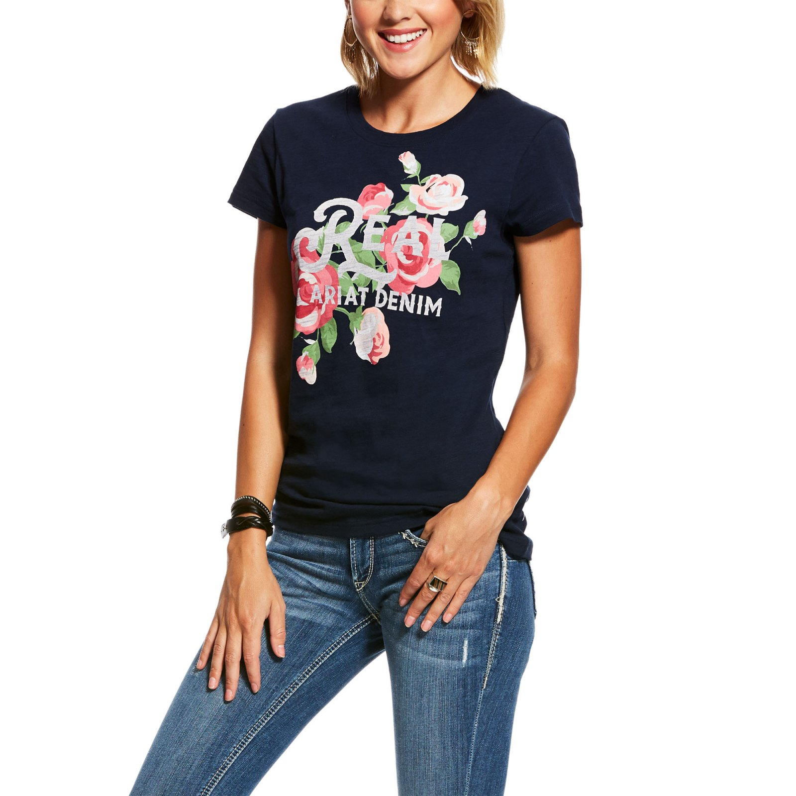 REAL Pretty Floral Tee from Ariat
