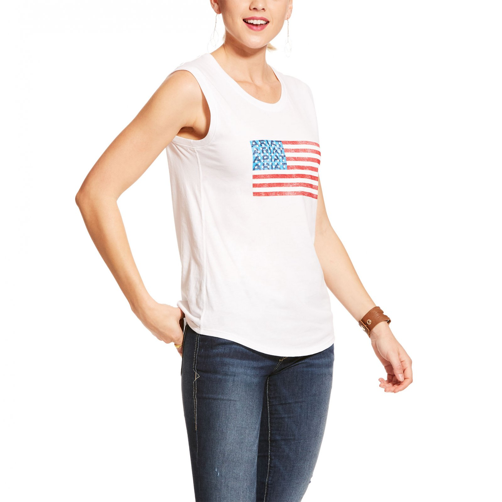American Flag Tank from Ariat