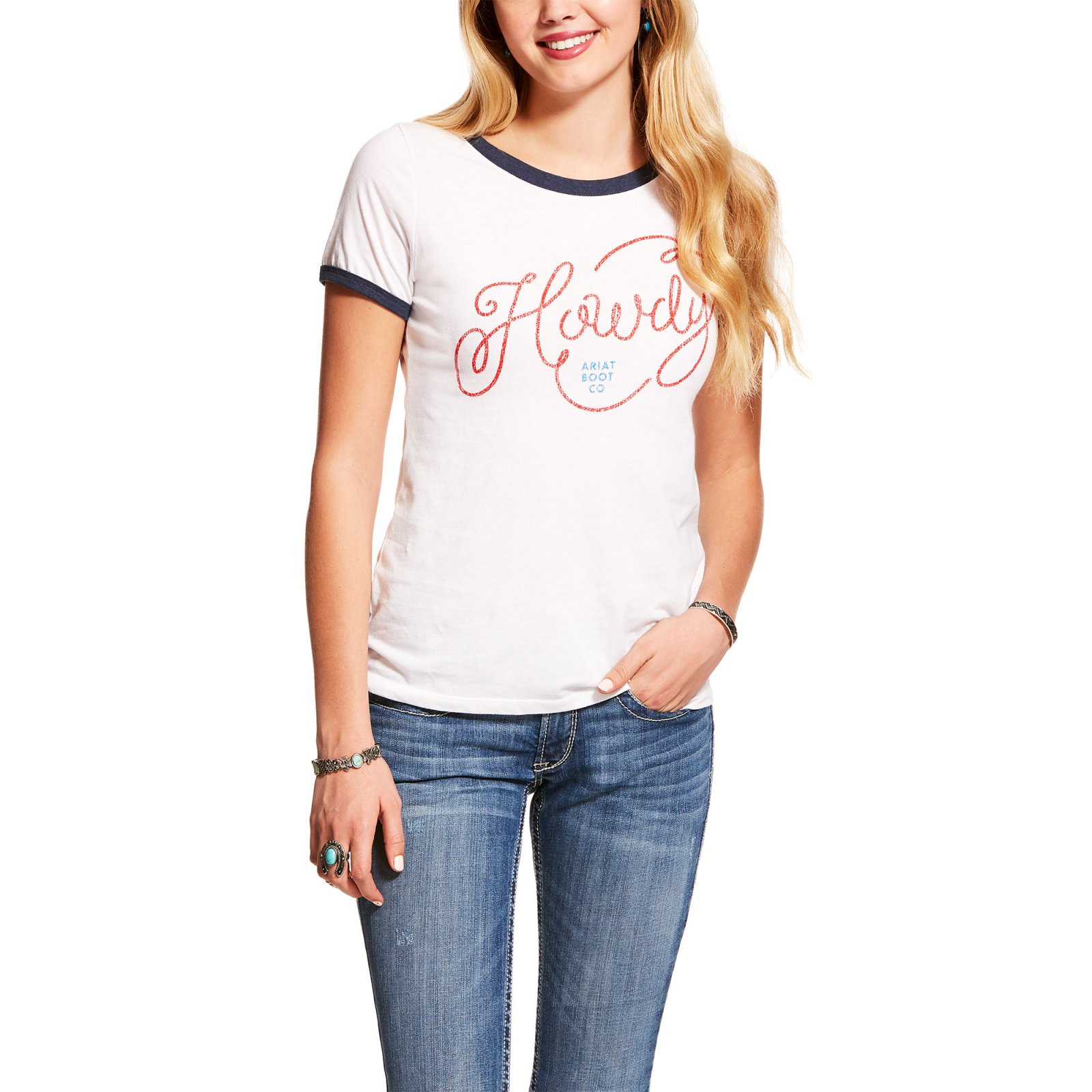 Howdy Ringer Tee from Ariat