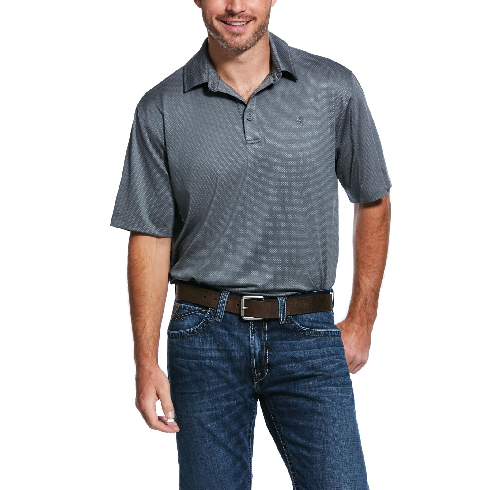 Birdseye Button Polo from Ariat