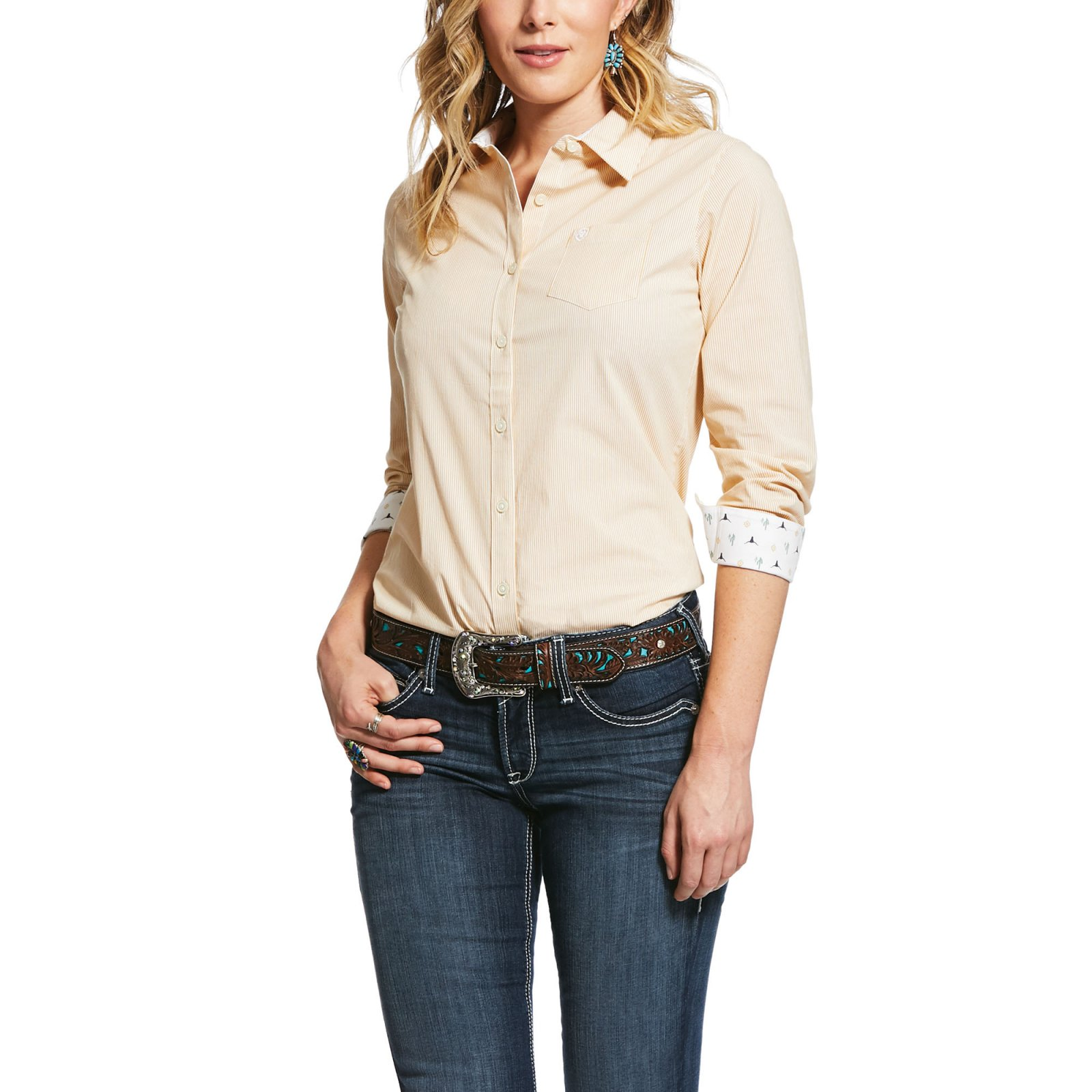 Kirby Stretch Shirt from Ariat