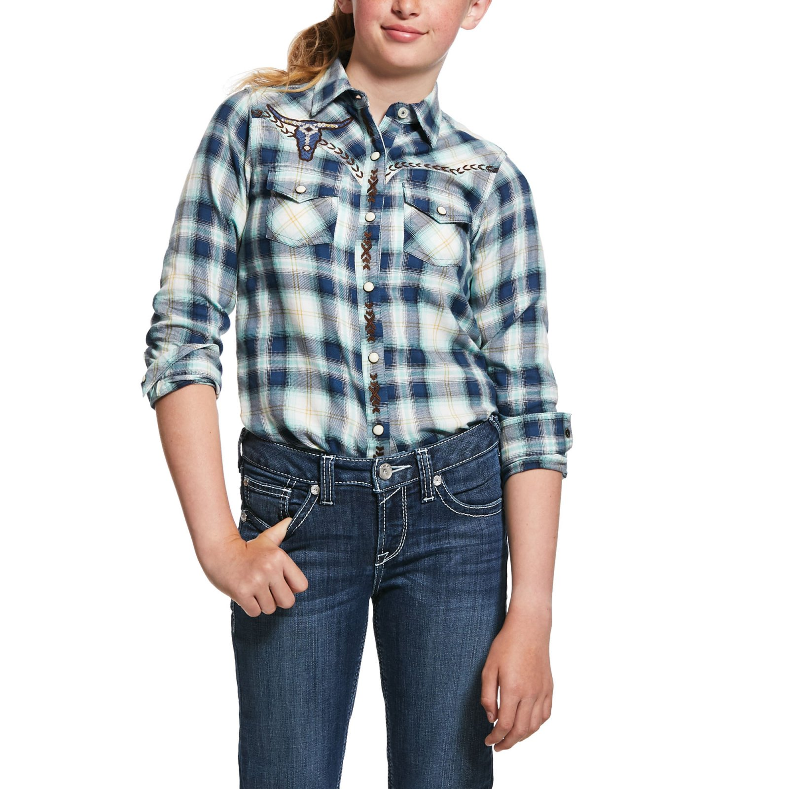Girls R.E.A.L. Integrity Shirt from Ariat