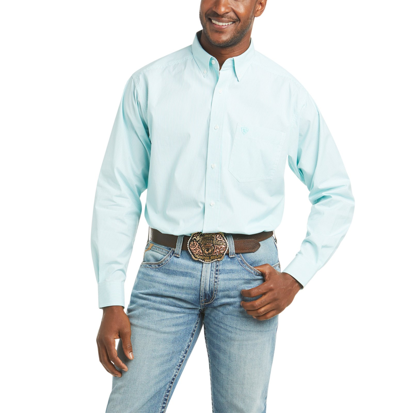 Pro Series Dayne Mini Stripe Shirt from Ariat