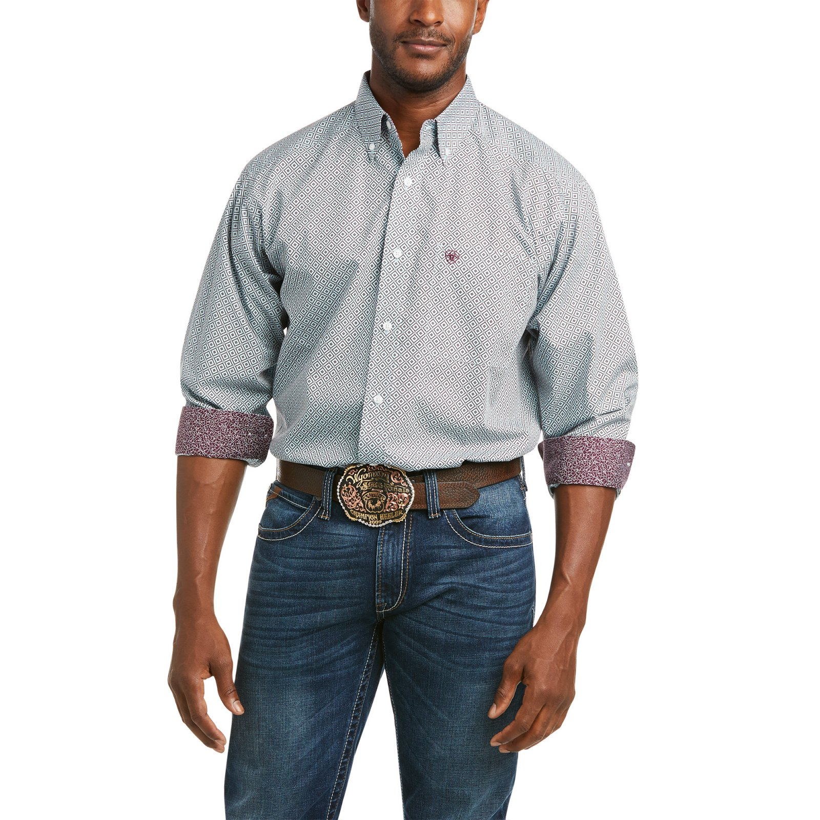 Wrinkle Free Warren Classic Fit Shirt from Ariat