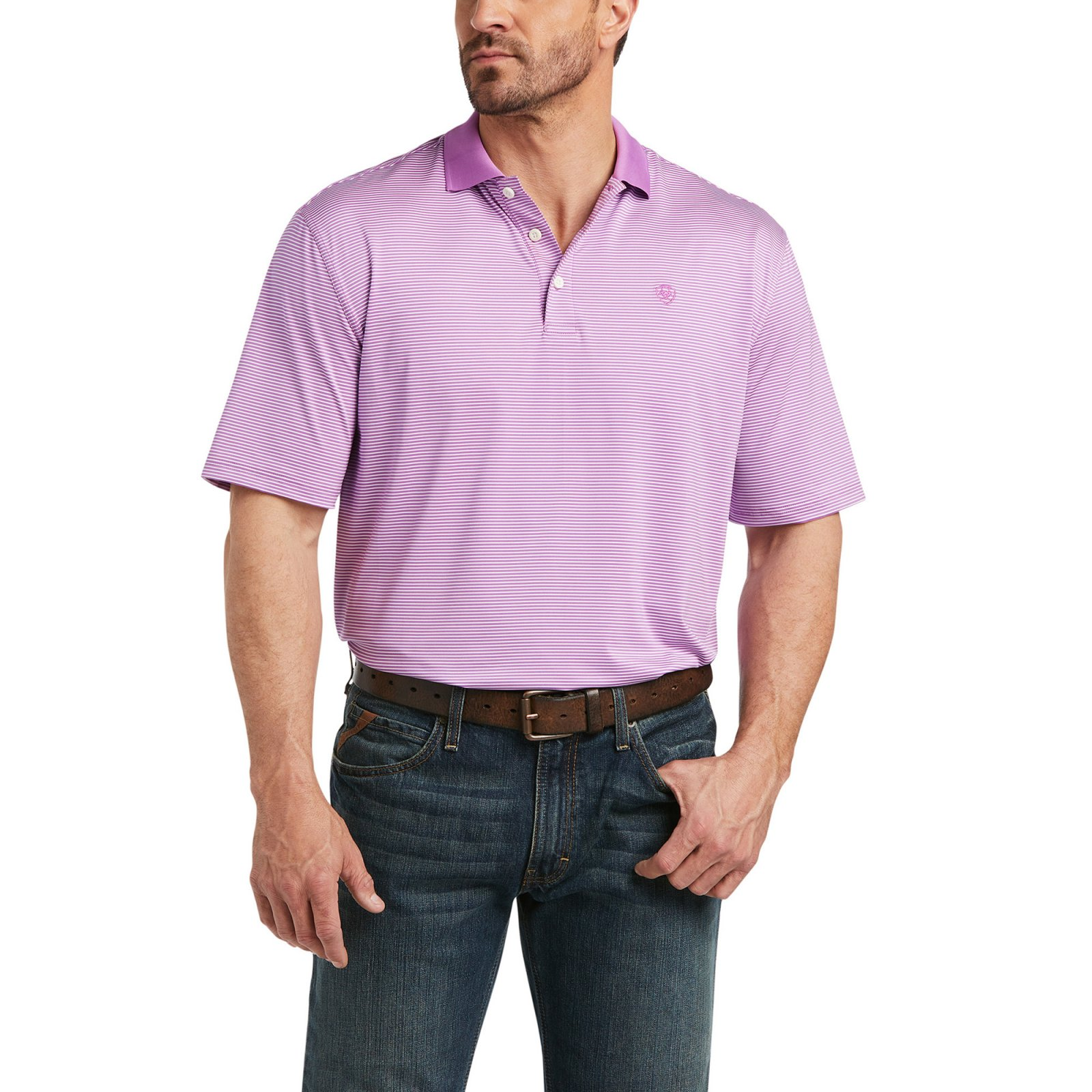 Micro Stripe Polo from Ariat