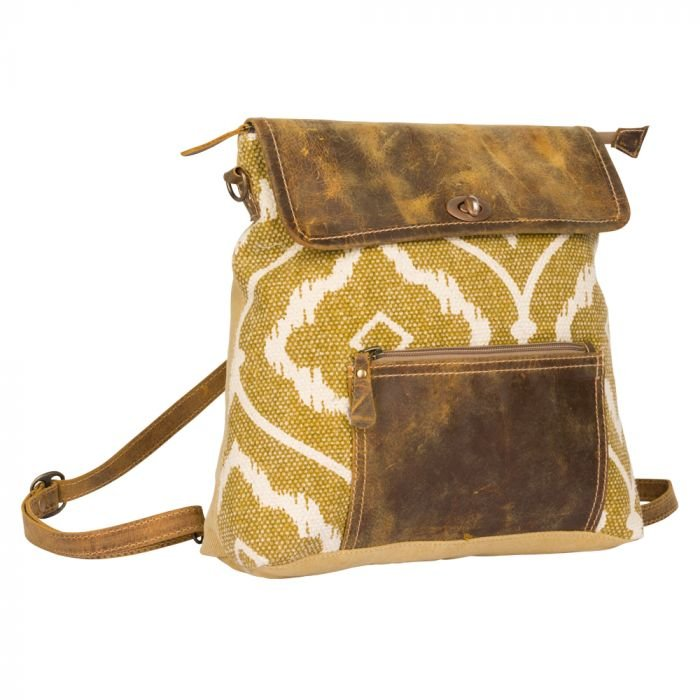 The Brown Fantasy Backpack from Myra Bags
