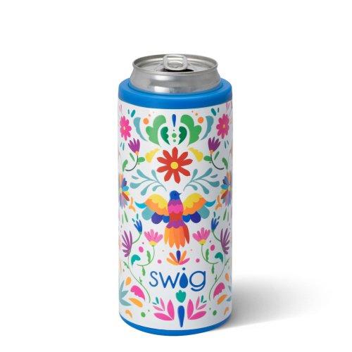 Swig 12oz Viva Fiesta Skinny Can Cooler
