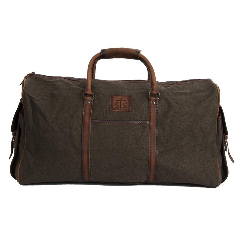 Foreman Dark Canvas Travel Bag from StS Ranch