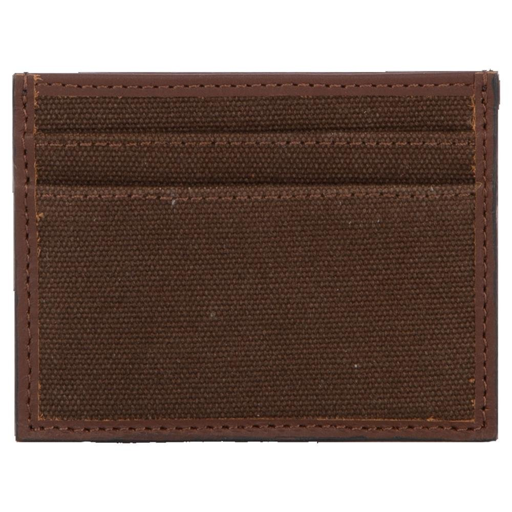 Chocolate Canvas Card Wallet from StS Ranch