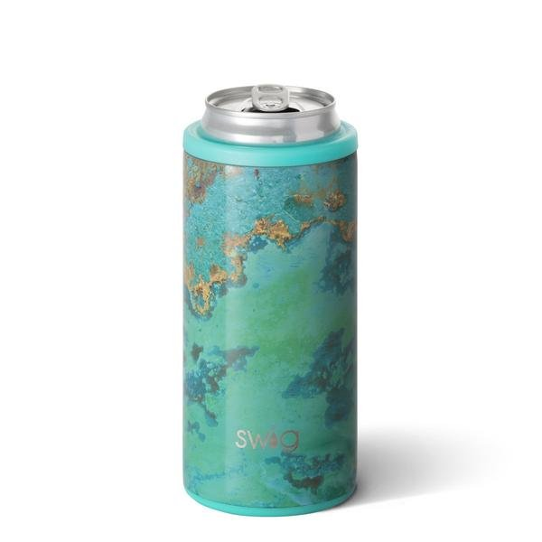 Swig Copper Patina 12oz Skinny Can Cooler