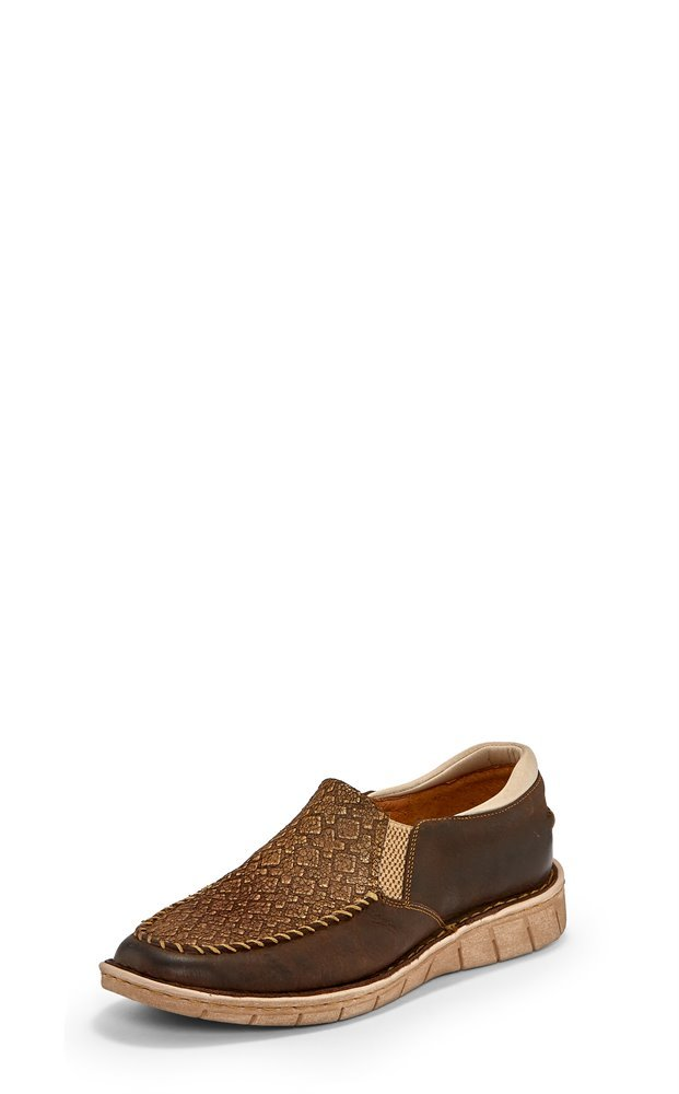 Ladies Slip-On Moc Loafer from Tony Lama