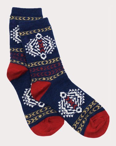 Tolovana Crew Sock from Pendleton