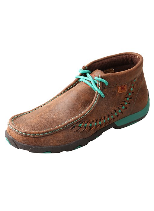 Driving Moccasin Brown /Turquoise from Twisted X