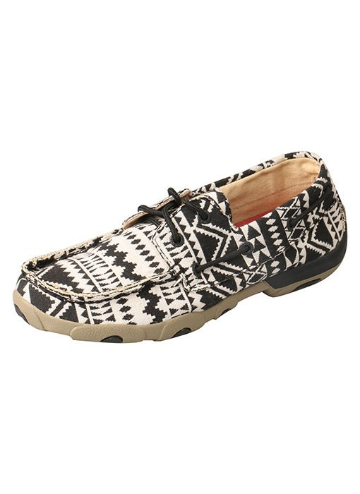 Women's Aztec Print Driving Moc from Twisted X