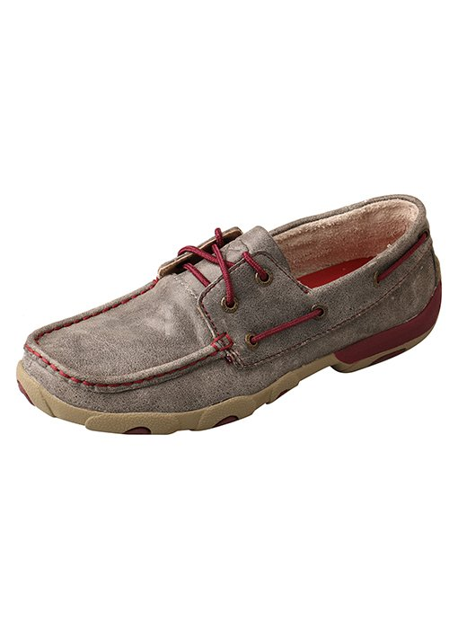 Driving Moc Grey/Berry from Twisted X