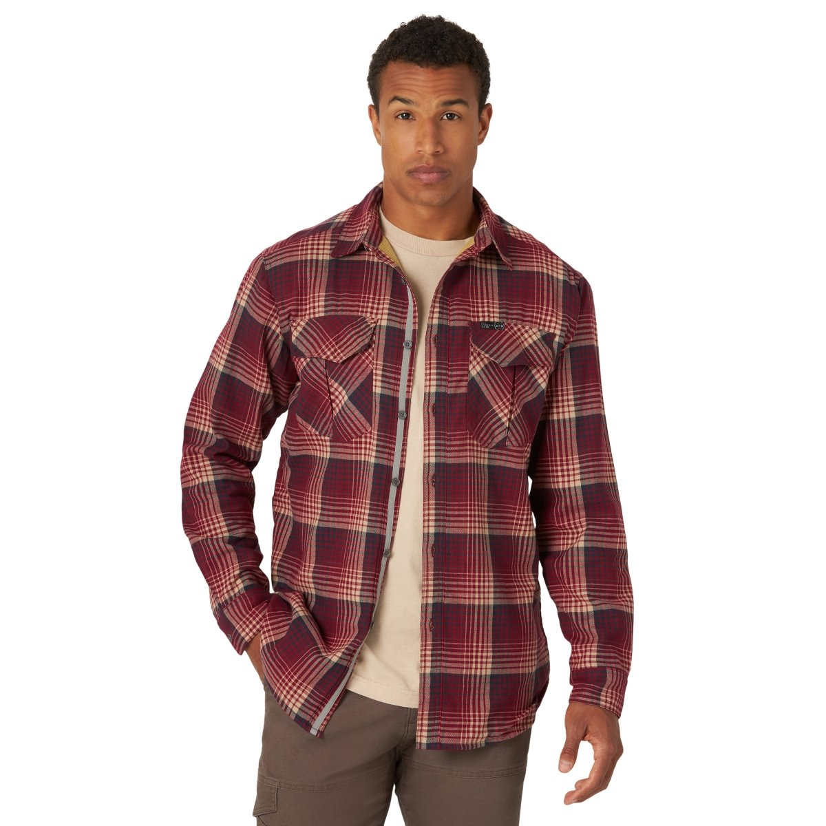 ATG X Thermal Lined Flannel Long Sleeve Woven from Wrangler