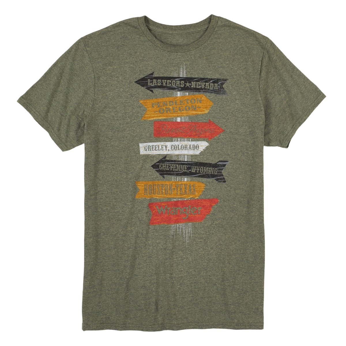 Directions Tee from Wrangler