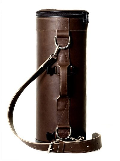 Torpedo Loredo Bag (Black Leather)