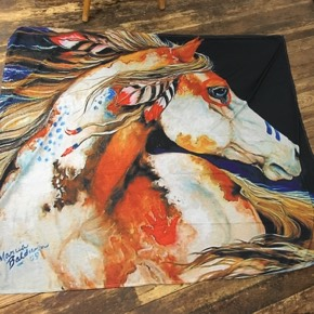 Indian Horse Tapestry