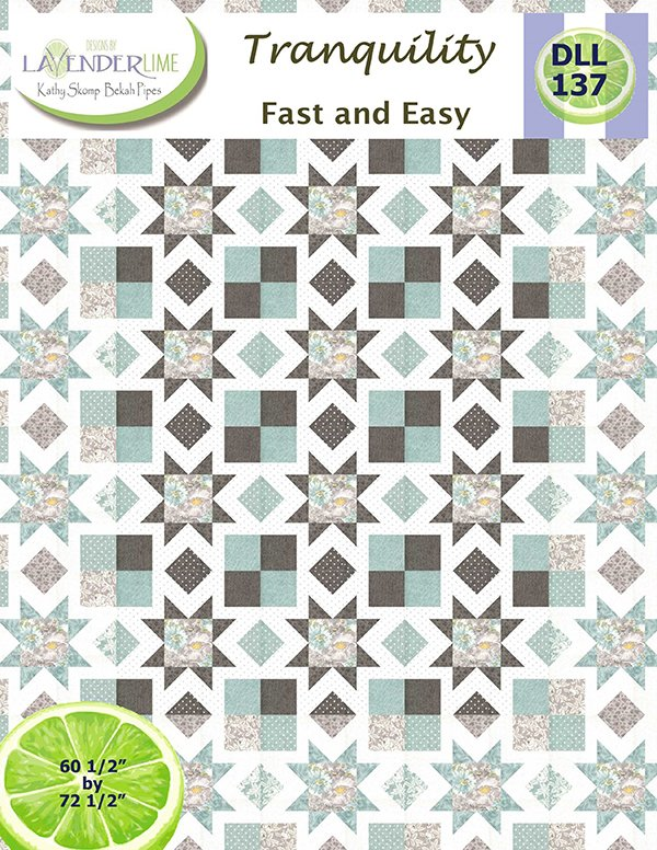 Tranquility by Lavender Lime Pattern DLL 137G