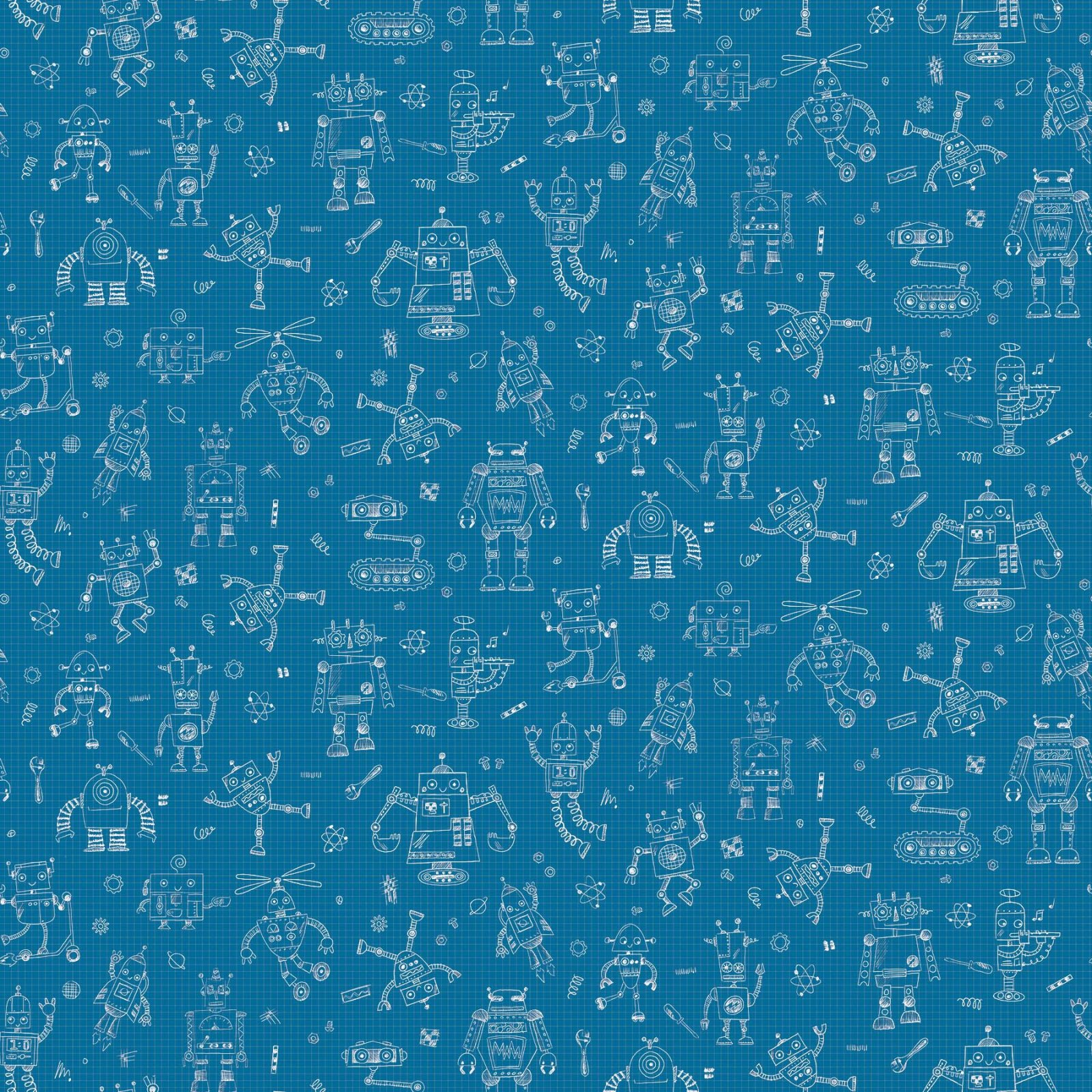Rollicking Robots -Drawing Board