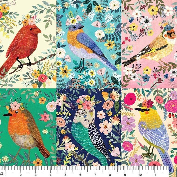 Birdie Collection - Birdie Panel Multi 129.103.01.1