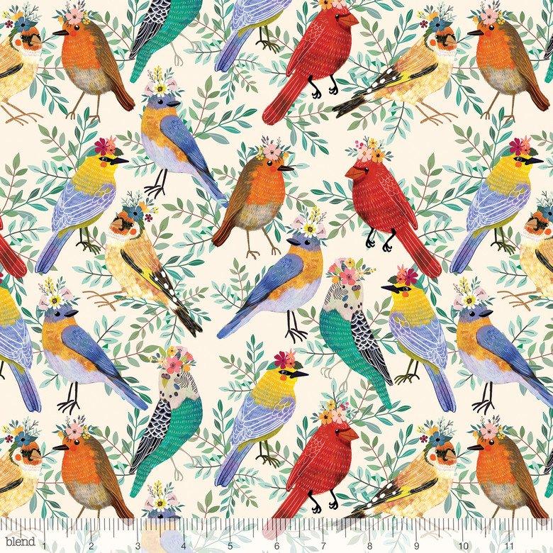 Birdie Collection - Birdie - Bird Meet Ivory 129.103.02.1