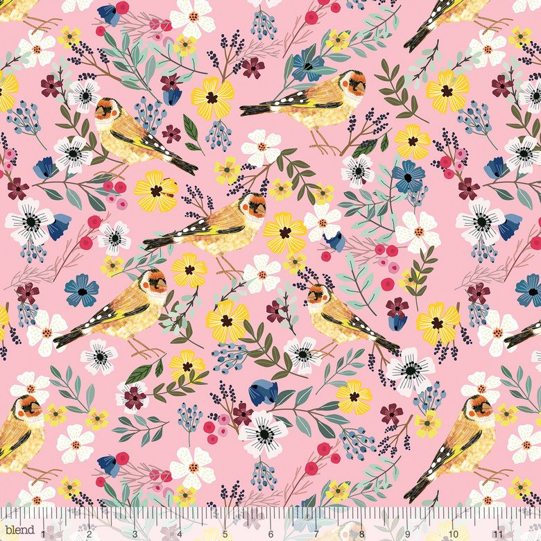 Birdie Collection - Birdie - Goldfinch Pink 129.103.04.2