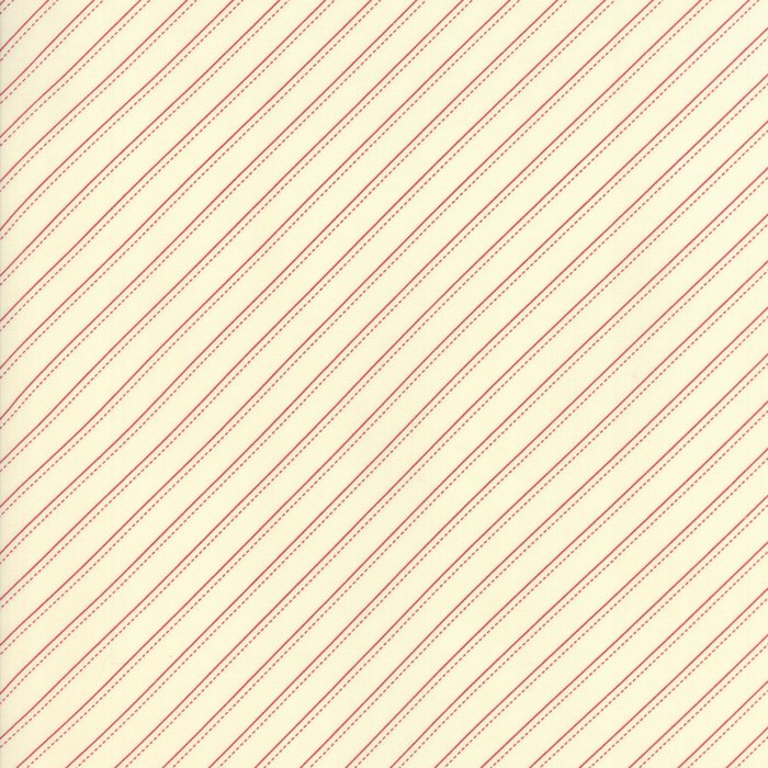 Farmhouse Reds by Minick & Simpson for Moda - Ivory Red - 14853-13