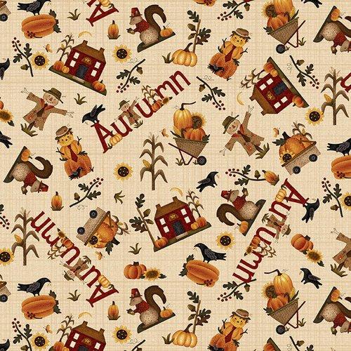 Buttermilk Autumn Q-2273-33 Cream Novelty Toss