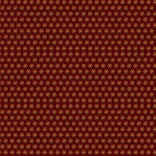 Hello Fall - Red Five Petal Flower 2690-88