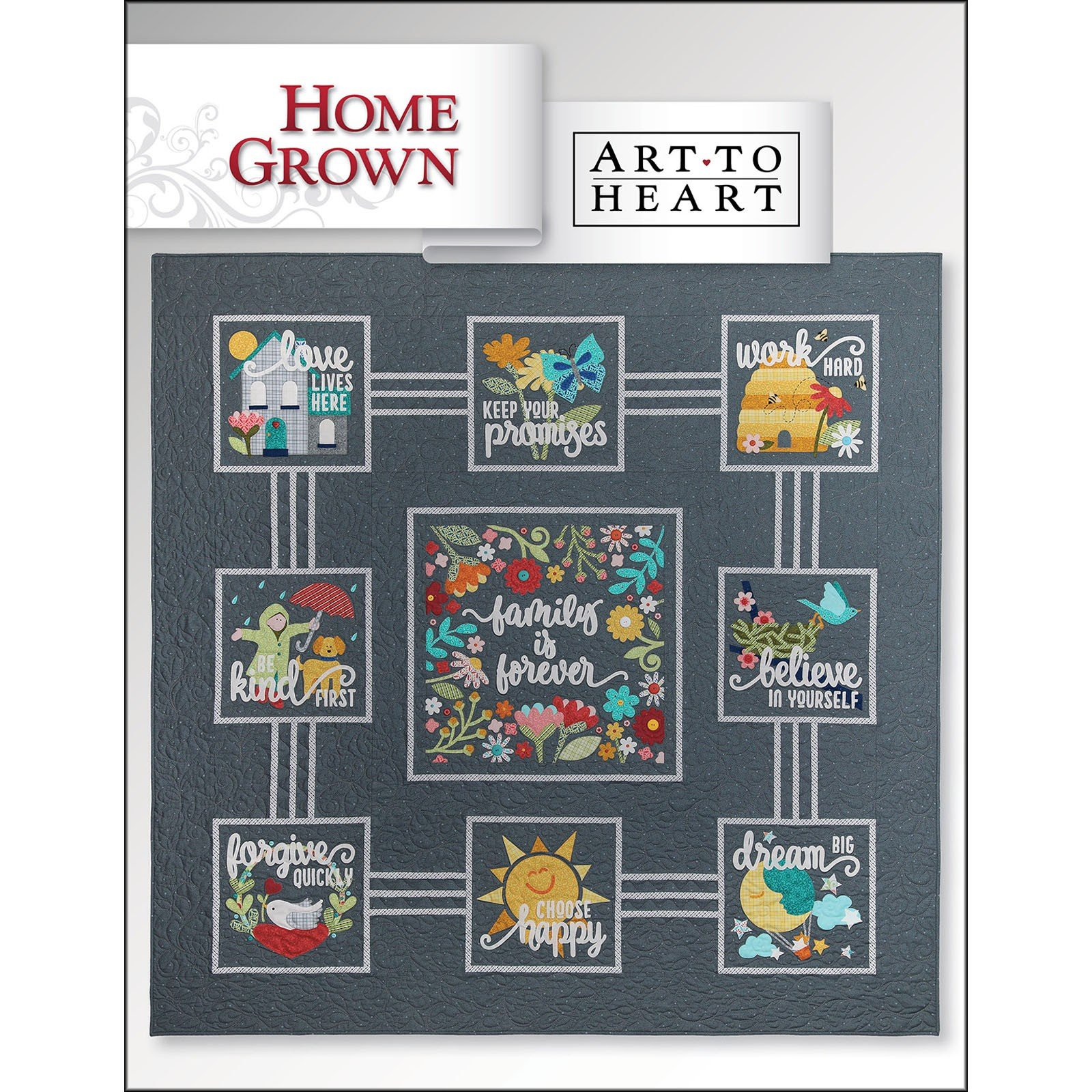 Home Grown by Nancy Halvorsen - ATH553B - Book