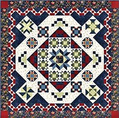 Belle Blooms Block of the Month