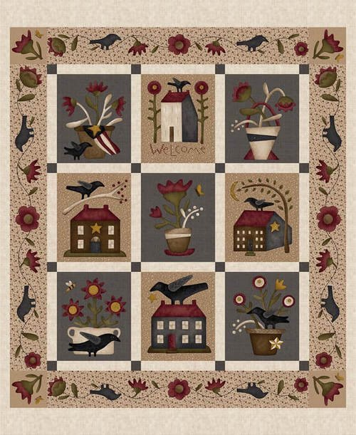 Buttermilk Blossoms by Stacy West -2103P-33 Cream -Panel
