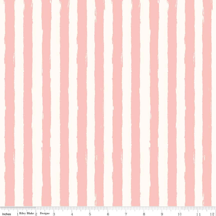 Blush by Riley Blake - Stripe Cream - c8015cream